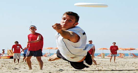 Campionati Mondiali di Frisbee Freestyle a Riccione