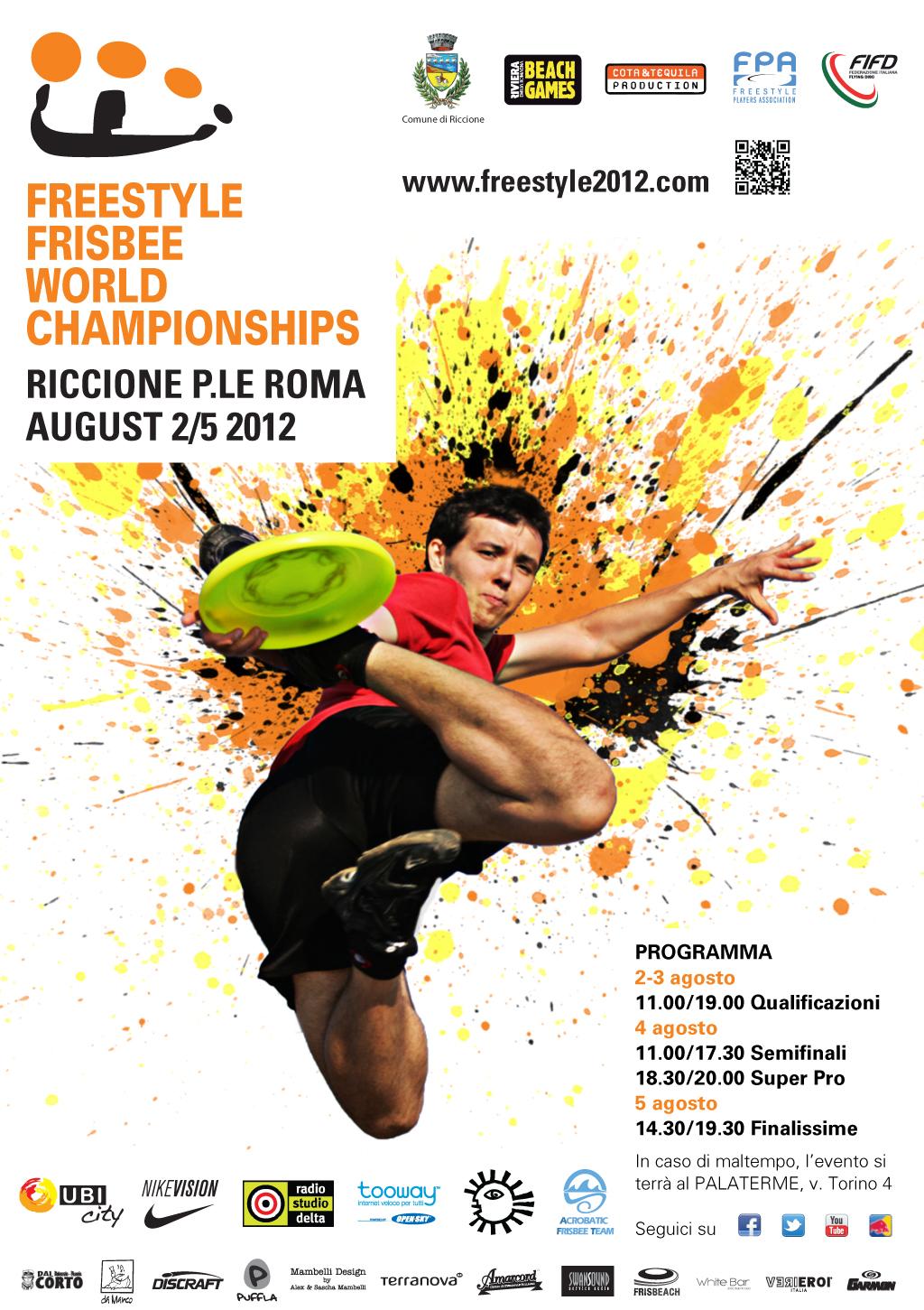 Freesbe Frestyle Riccione 2012