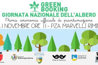 21 novembre, Giornata Nazionale dell'Albero:  il Green Booking pianta i primi alberi a Rimini e Riccione