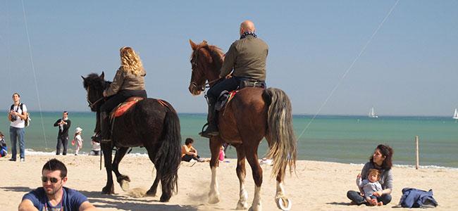 A Cavallo sulla spiaggia