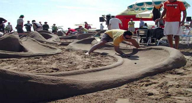 Al bagno aurora di cesenatico il cicconi day gara di biglie in spiaggia - Bagno adriatico cesenatico ...