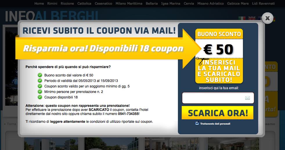 Riviera romagnola statistiche estate 2013 for Buoni coupon