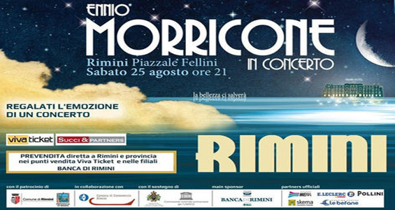 Ennio Morricone in concerto a Rimini