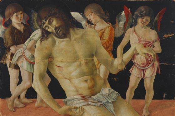 Cristo morto con 4 angeli di Giovanni Bellini