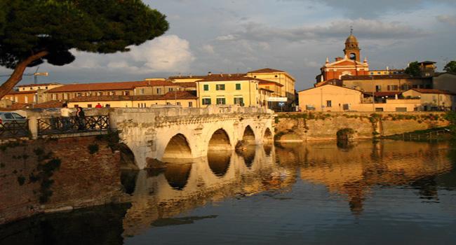 Il Ponte di Tiberio di Rimini compie 2mila anni