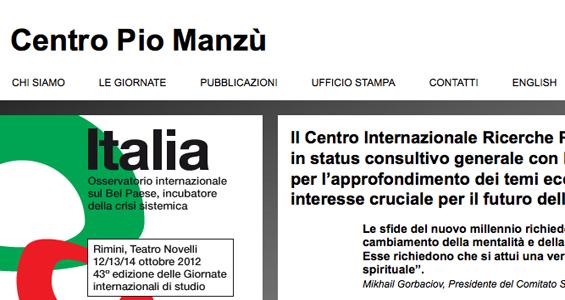 Pio manzù Rimini