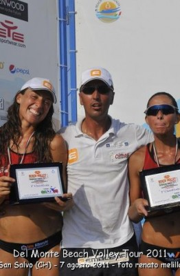 Laura Cavalluzzi vicecampionessa italiana di beach volley nel 2011