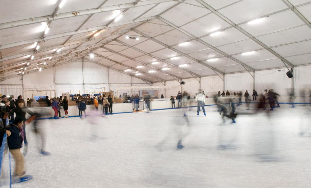 pattinaggio ghiaccio rimini ice village