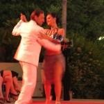 Esibizione di tango a Modart Rimini 2013
