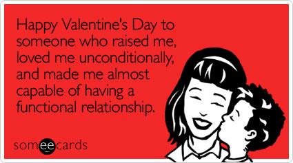 Buon San Valentino a chiunque mi ha sollevato, mi ha amato incondizionatamente e mi ha reso capace di avere una relazione che funziona