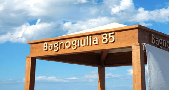 Bagnogiulia 85 Riccione - il bagno più ecologico d'Europa