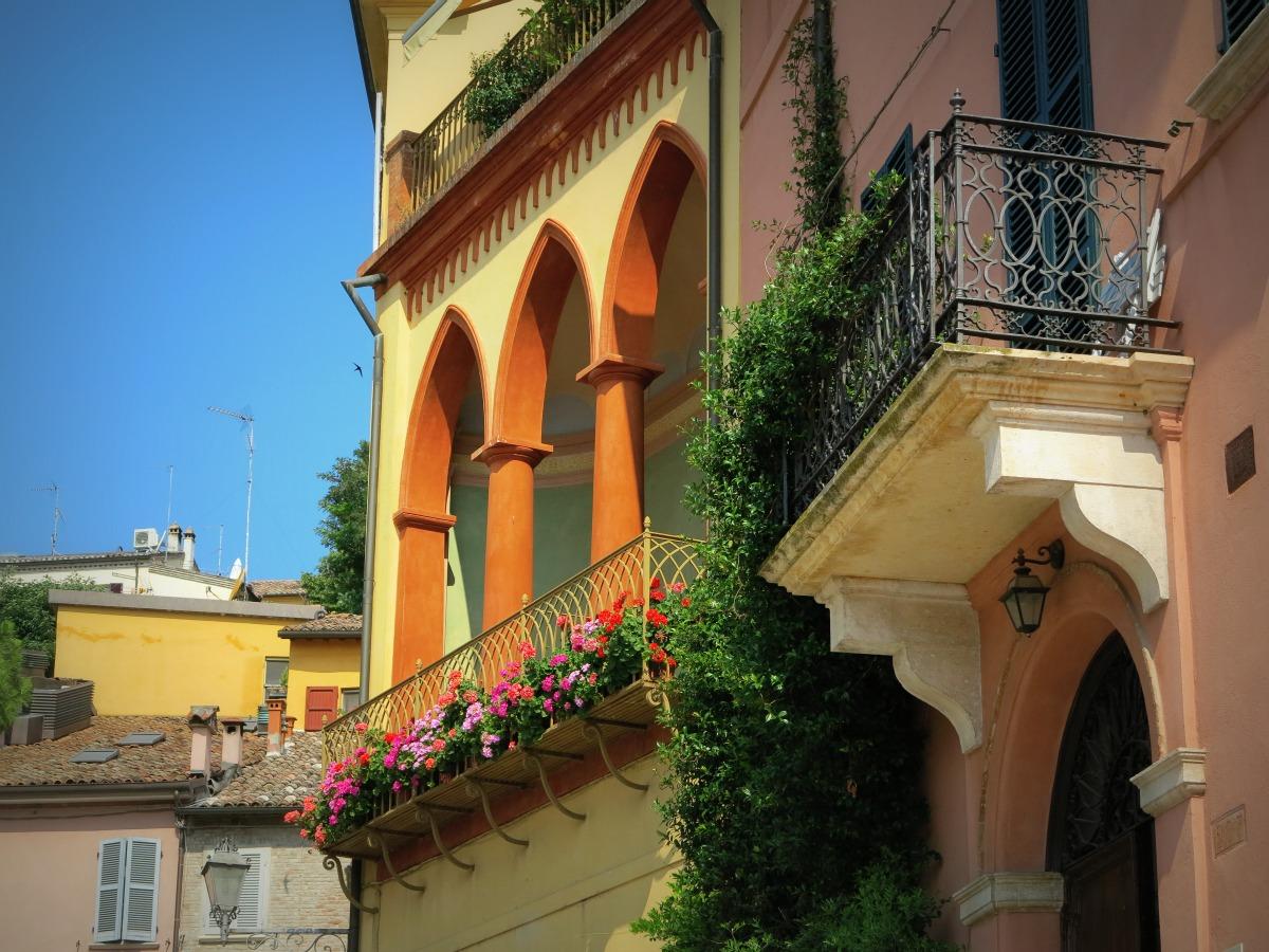 Dettaglio di Santarcangelo di Romagna