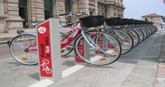 bike sharing in Riviera