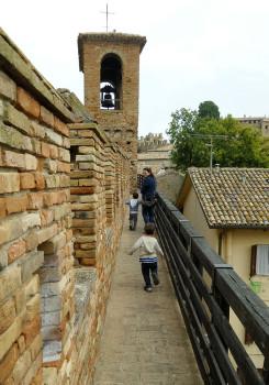 castello di gradara camminamenti di ronda