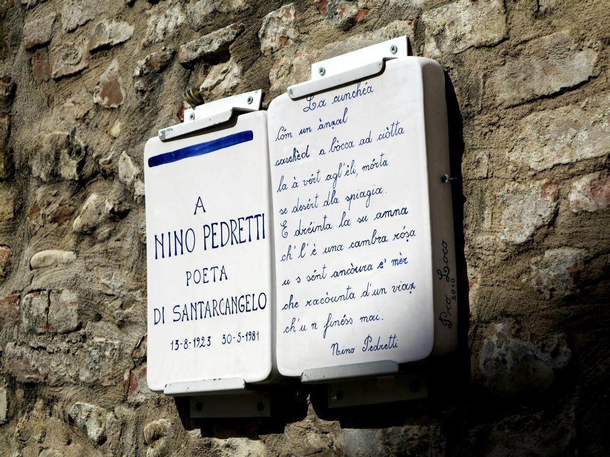 Nino Pedretti Santarcangelo
