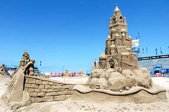 Scultura di Sabbia al World Master di Cervia