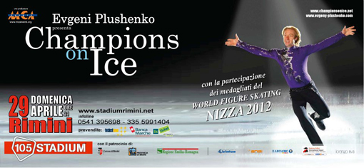 champions on ice rimini 105 stadium