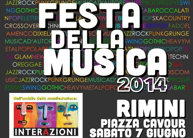 Festa della Musica, Rimini 2014