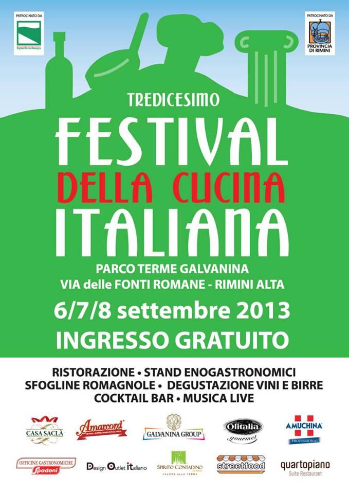 rimini festival cucina 2013