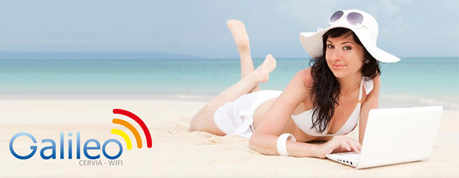 wifi spiaggia cervia