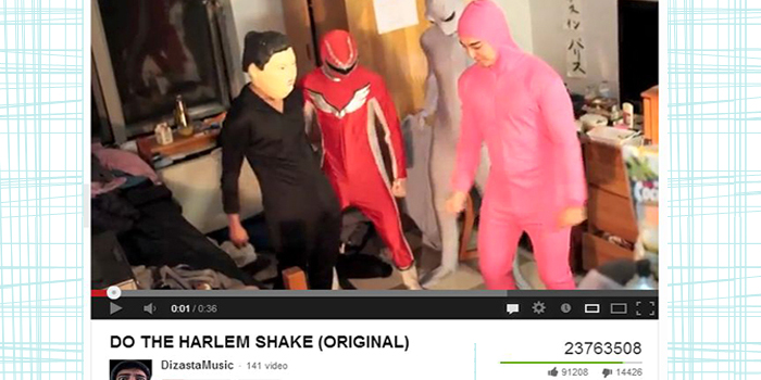 video virale harlem shake