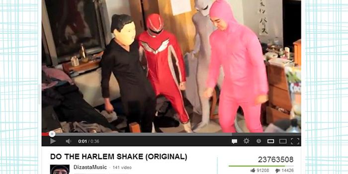 video virale harlem shake