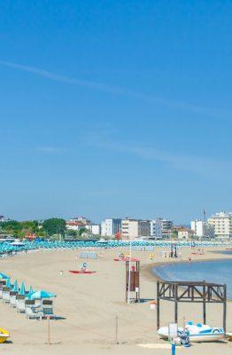 hotel in riviera romagnola e spiaggia