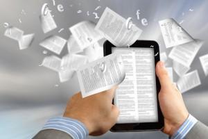 Leggere in viaggio libro o e-book - e-reader