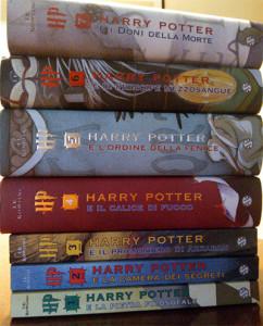 collezione libri harry potter