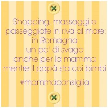 Un consiglio per la mamma in vacanza