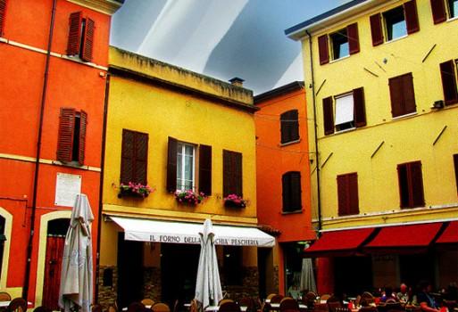 Vecchia pescheria piazzetta Rimini