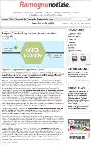 Rassegna stampa Green Booking 2