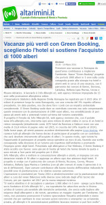 Rassegna stampa Green Booking 3