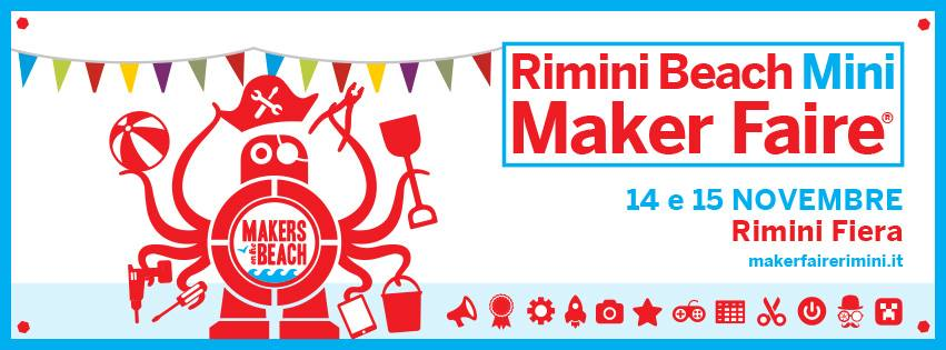 Rimini Beach Mini Maker Faire 1