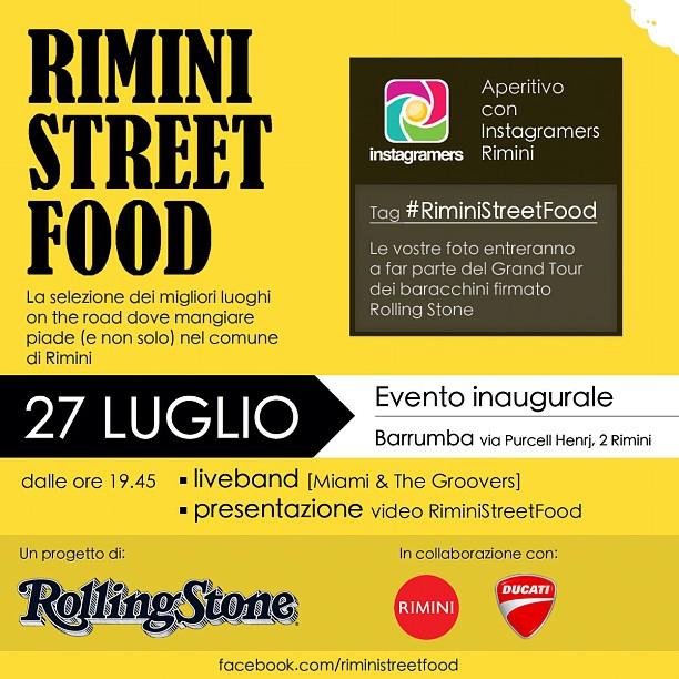 locandina igers rimini street food