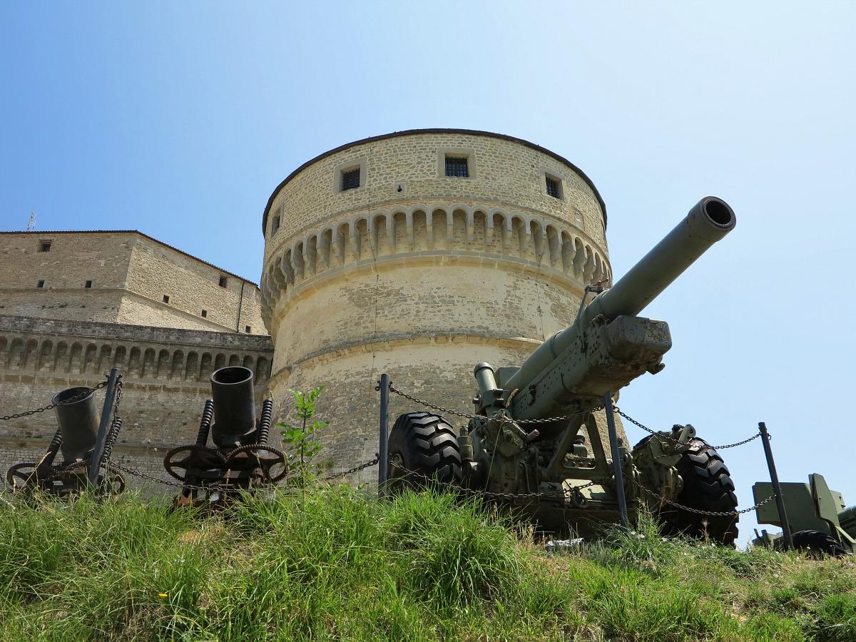 Castello di San Leo ingresso