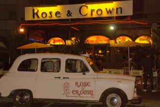 rose and crown pub rimini