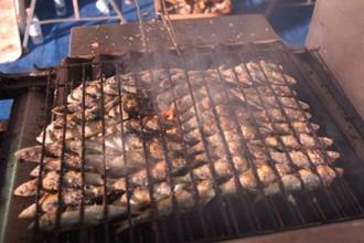 Il pesce azzurro arrosto di Cesenatico