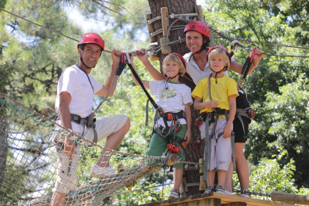 Il parco avventura San Marino Adventures