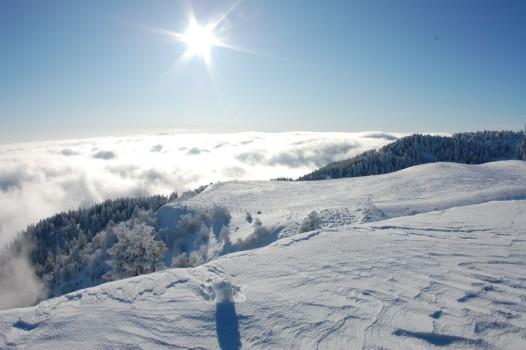 Sciare low cost vicino Rimini: l'Eremo di Monte Carpegna