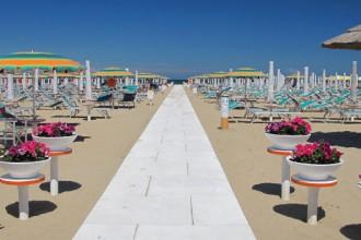 Rimini spiaggia estate