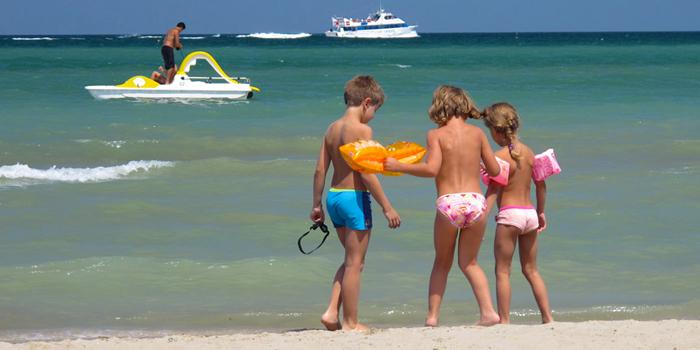 romagna spiagge per bambini