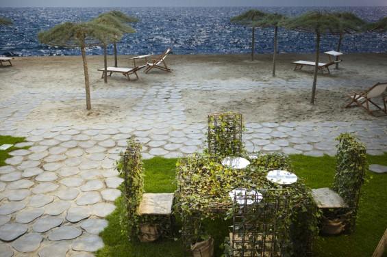 Spiaggia delle tamerici a Valverde di Cesenatico