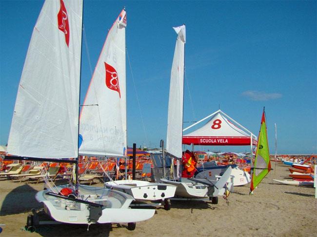 Rimini sport in spiaggia