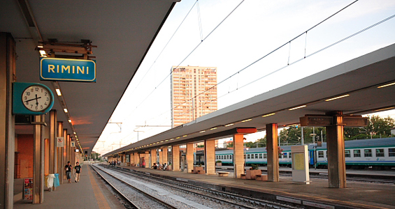 A Rimini e Riccione in treno gratis