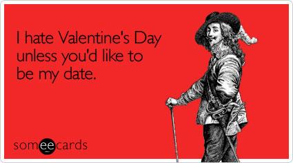 Odio San Valentino a meno che tu non voglia essere il mio appuntamento