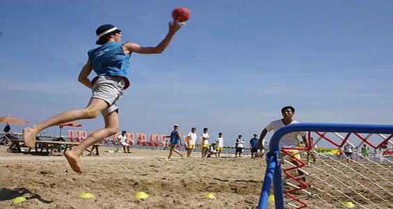 beach tchoukball