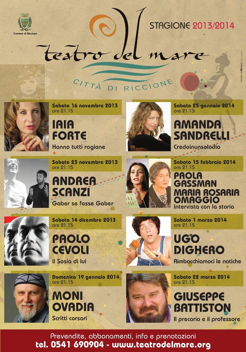 riccione stagione teatro 2013