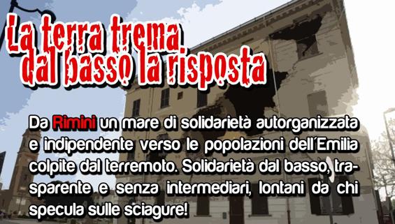 Aiuti Terremoto Emilia