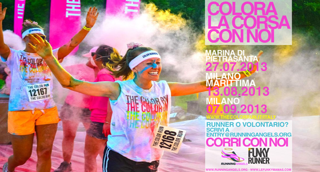 The Color Run fa tappa a Milano Marittima